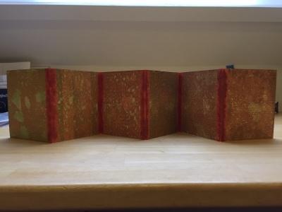 consertina / accordeonboek 9