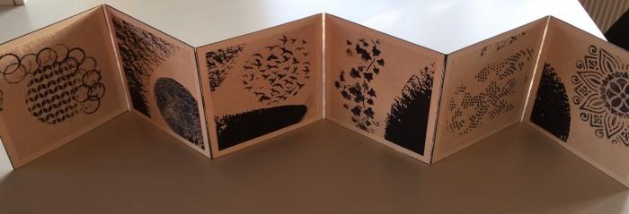 consertina / accordeonboek 2